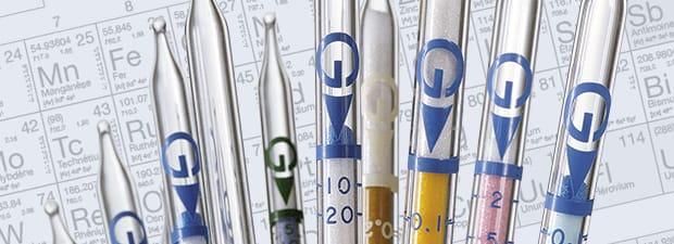 tubes réactifs